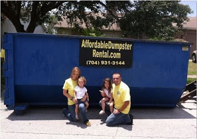 rent a roll off dumpster in raleigh and charlotte nc
