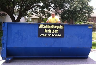 rent a dumpster in raleigh charlotte nc